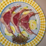Lamb Chops with Pepper Jelly