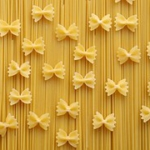 Bow Tie Pasta with Fried Eggs